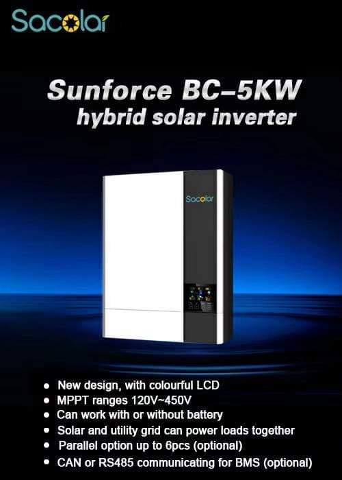 BC-5KW 48V Hybrid Inverter With Wi-Fi