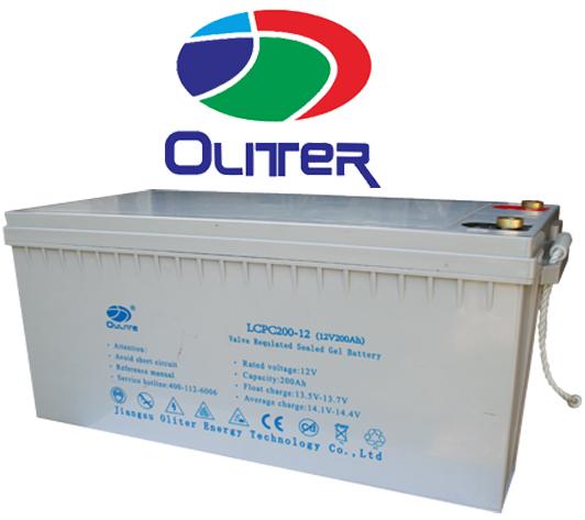 Oliter 12V 200Ah Gel Battery GA SOLAR