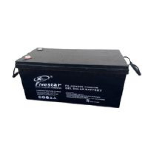 FIVESTAR 200AH 12V GEL SOLAR BATTERY