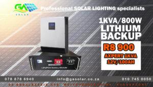 solar backup solar power